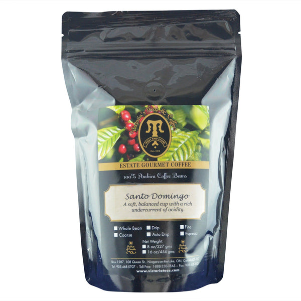 Santo Domingo Estate Coffee 1/2 lb