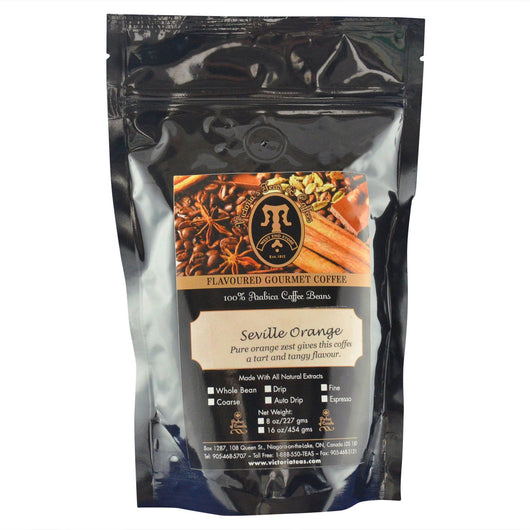 Seville Orange Gourmet Flavoured Coffee 1/2 lb