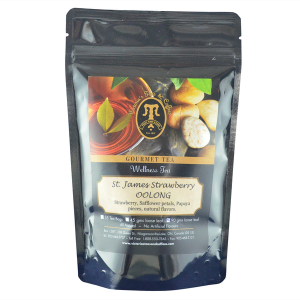 St. James Strawberry Oolong Wellness Tea