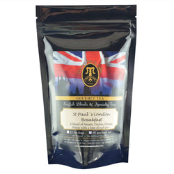 St.Pauls London Breakfast English Loose Leaf Tea Blend