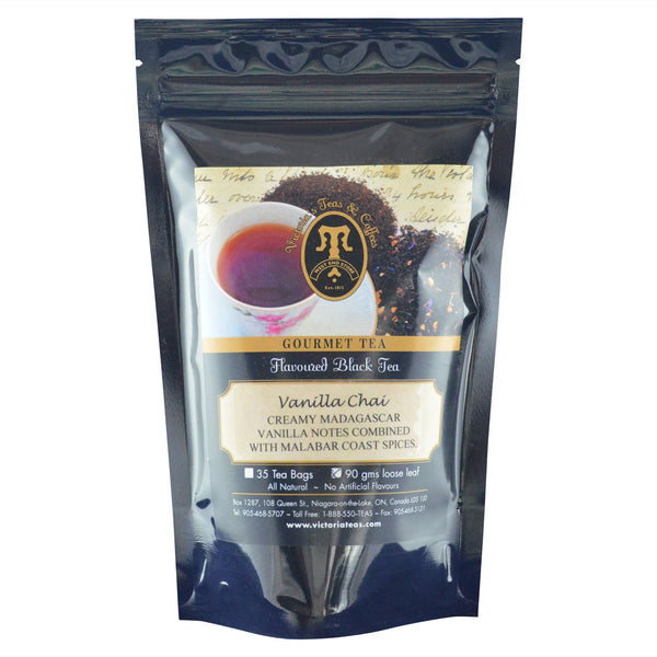 Vanilla Chai Flavoured Black Loose Leaf Tea
