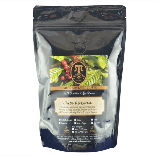 White Russian Exotic Flavoured Coffee 1/2 lb