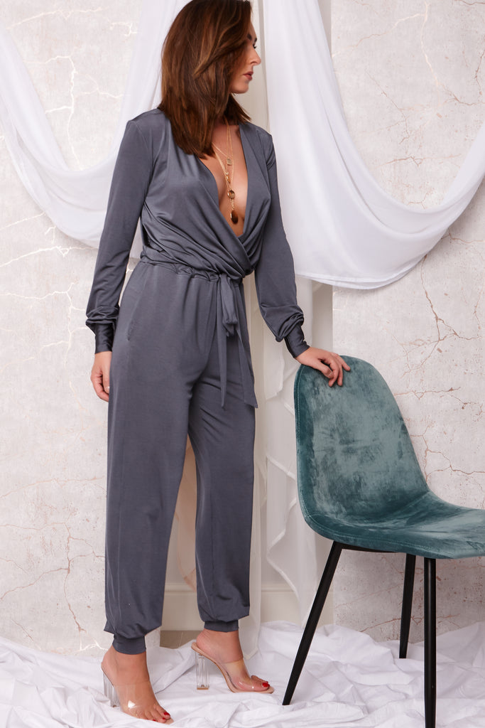 MOLLY JUMPSUIT GREY