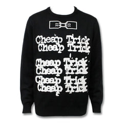 Knitted Stacked Sweater - Cheap Trick Official Online Store - 1