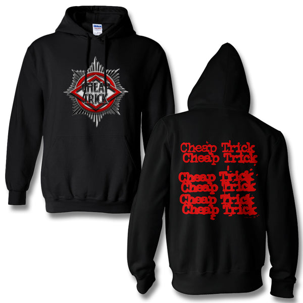 the latest 4981a c8003 Official Cheap Trick Badge Pullover Hoodie | Cheap Trick Official Online  Store