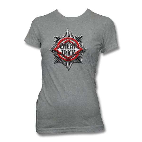 Badge Women's T-Shirt - Heather Grey