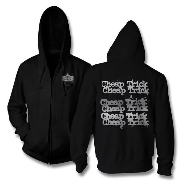 Badge Zip Up Hoodie