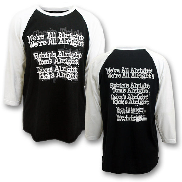 Everybody Is Alright Raglan Shirt