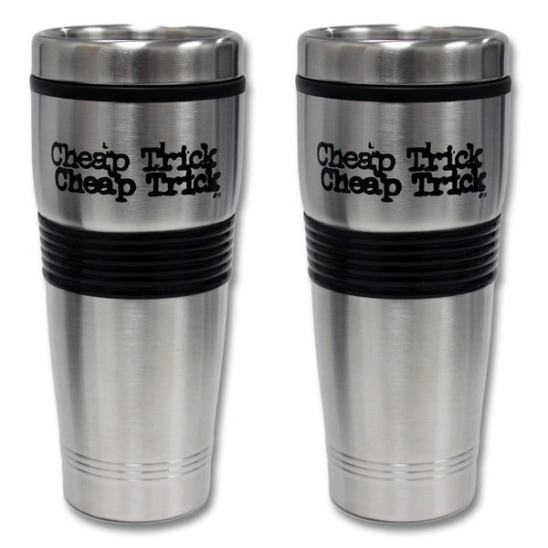 Official Cheap Trick 2 Pack Coffee Tumbler Set