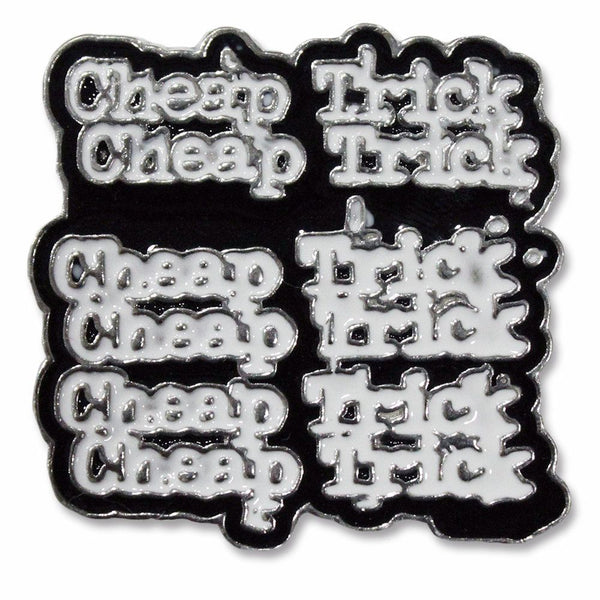 Enamel Repeater Pin - Cheap Trick Official Online Store