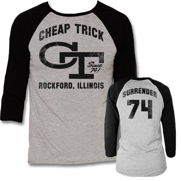 Team Surrender Raglan Shirt - Cheap Trick Official Online Store - 1
