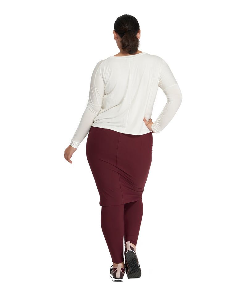 Activewear Pencil Skirt Attached to Leggings