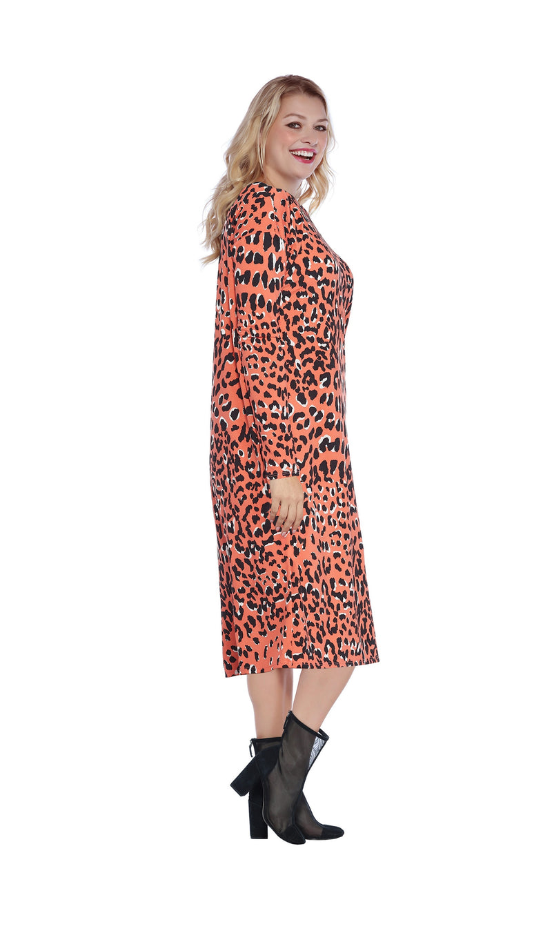 Coral Leopard