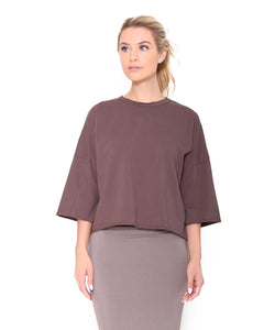 T Shirt, Smokey Brown