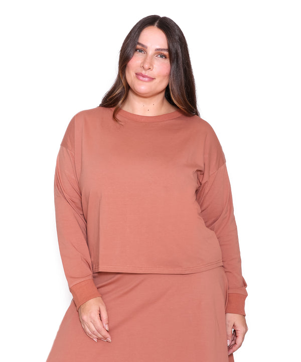 Long Sleeve T Shirt, Spice