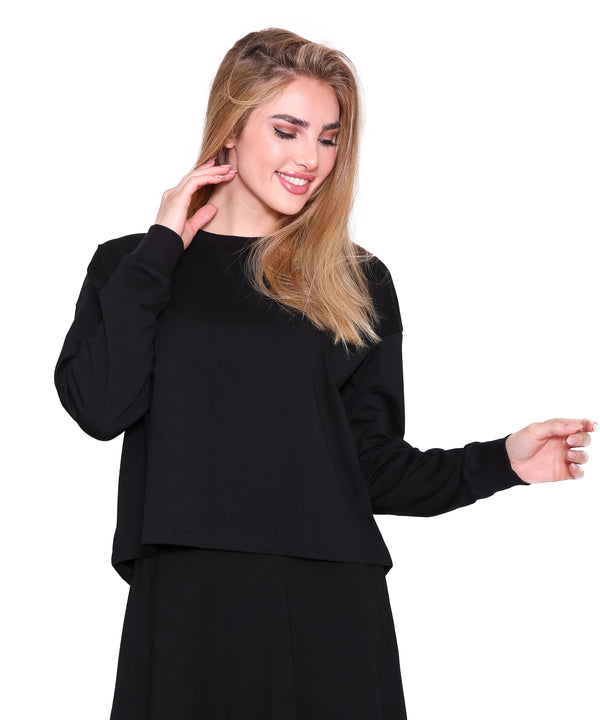 Long Sleeve T Shirt, Black