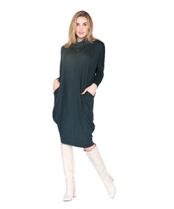 Cozy Sweater Dress, Forest