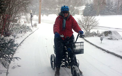 Liberty Trike: Storage and Safekeeping for Winter