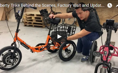 Behind the Scenes, Factory Visit and Liberty Trike Updates