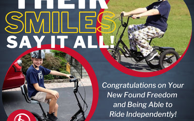 Pierce and Grant Just Received Their Free Liberty Trikes!
