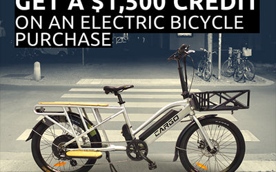Tax Incentives May Be Next For E-Bikes