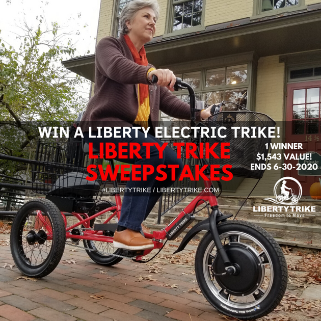 online contests, sweepstakes and giveaways - Liberty Trike Sweepstakes | Enter to win