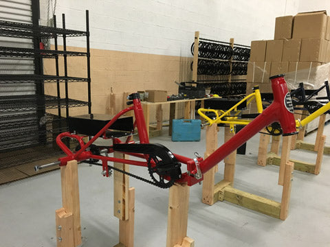 Liberty Electric Tricycle - Assembly - Red front