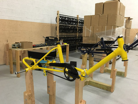 Liberty Electric Tricycle - Assembly - Yellow front