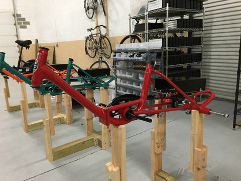Liberty Electric Tricycle - Assembly - Red Back