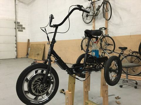 Liberty Electric Tricycle - Assembly - Black complete