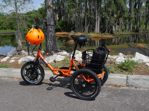 John's Big Orange Liberty Trike in Tampa FL