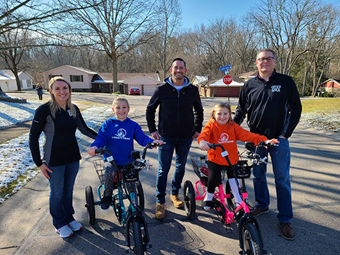 Jason Kraft and the Monnin Family receive a BIG surprise!