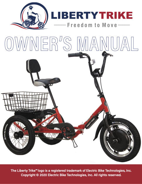 Liberty Trike Owner's Manual