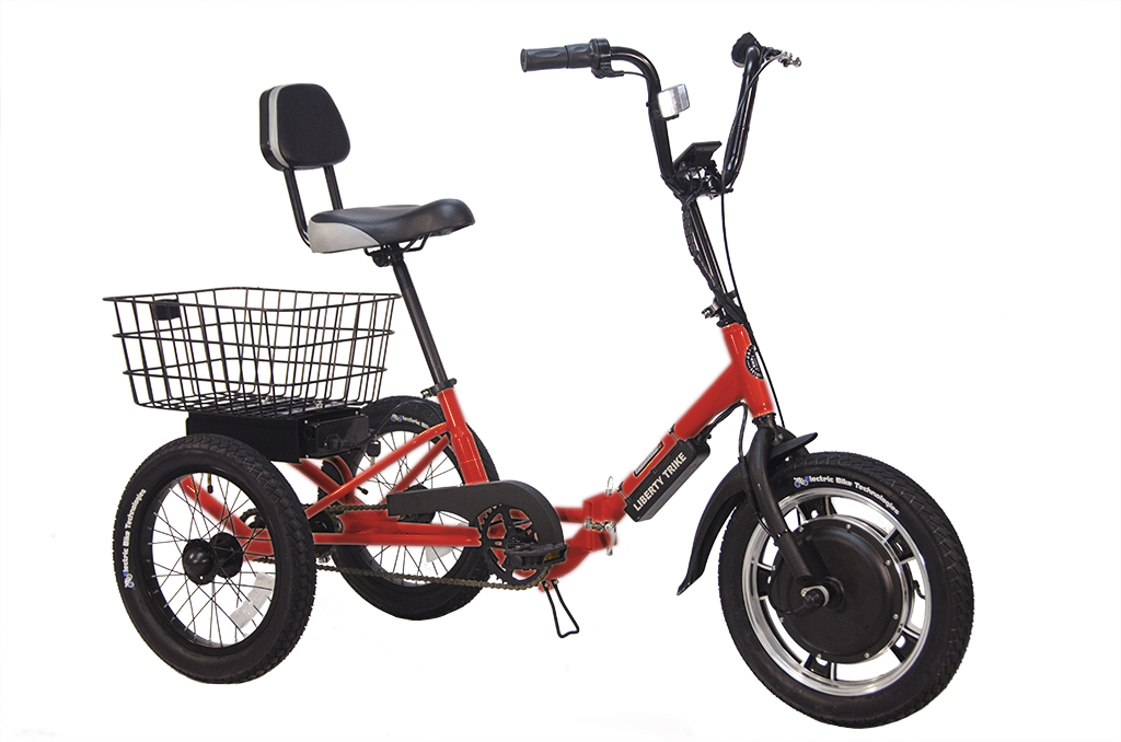 The Liberty Trike is an easy to navigate and compact enough to travel.