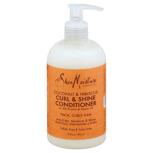 Shea Moisture - Coconut & Hibiscus Curl & Shine Conditioner 13 oz