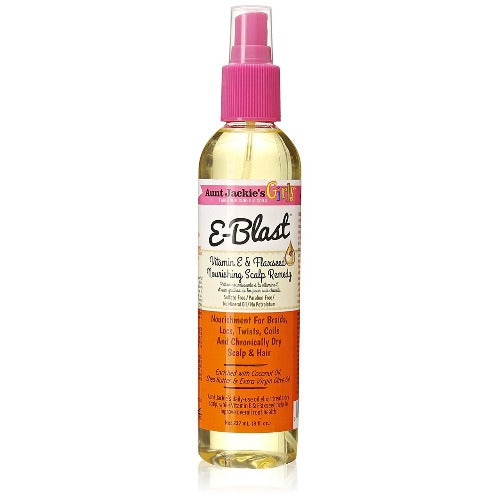 Aunt Jackie's - Girls E-Blast Vitamin E & Flaxseed Nourishing Scalp Remedy 8 fl oz