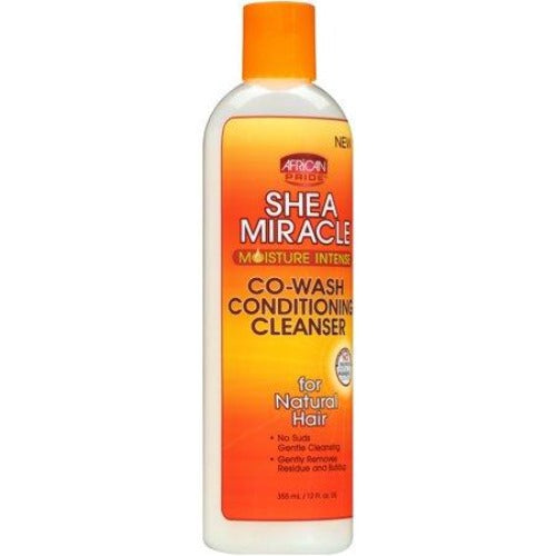 African Pride - Shea Miracle Co-Wash Conditioning Cleanser 12 fl oz