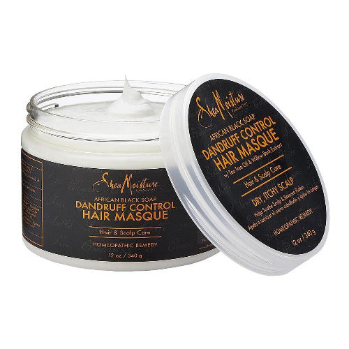 Shea Moisture - African Black Soap Dandruff Control Hair Masque 12 oz