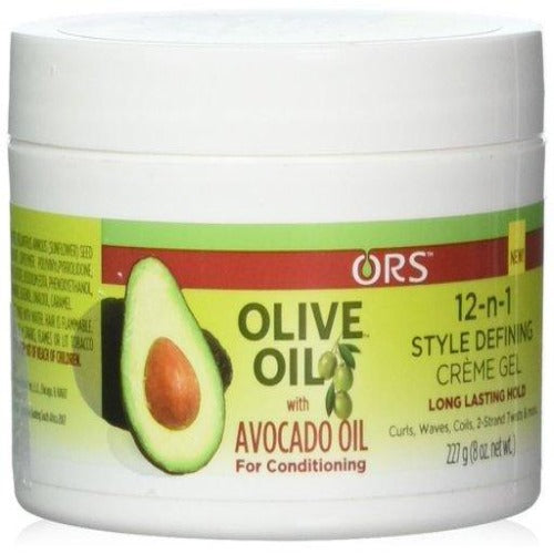 ORS - Olive Oil with Avocado Oil 12-n-1 Creme Gel 8 oz