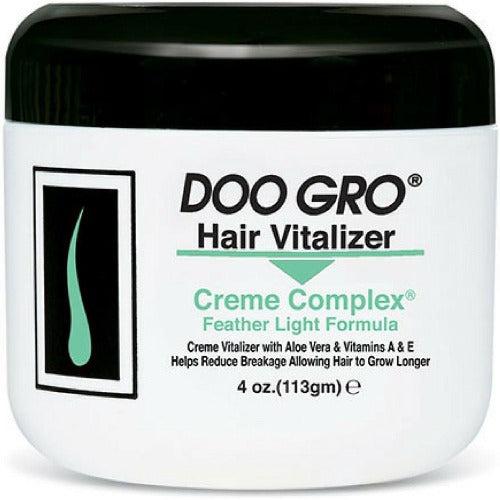 Doo Gro - Medicated Hair Vitalizer Creme Complex Feather Light Formula 4 oz