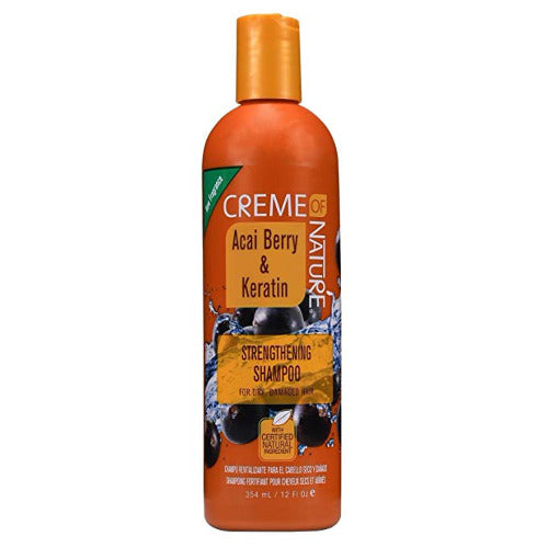 Creme of Nature - Acai Berry Strengthening Shampoo 12 fl oz