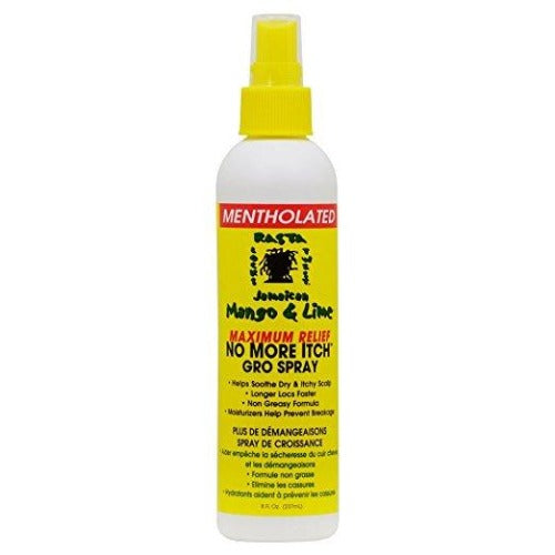 Jamaican Mango and Lime - Maximum Relief No More Itch Gro Spray 16 fl oz