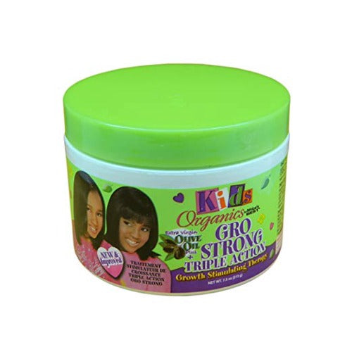 Africa's Best - Kids Organics Gro Strong Triple Action Therapy 7.5 oz