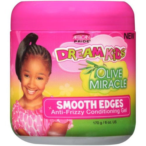 African Pride - Dream Kids Olive Miracle Anti-Friz Conditioning Gel 6 oz