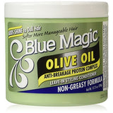 Blue Magic - Olive Oil Non-Greasy Leave-In Styling Conditioner 13.75 oz