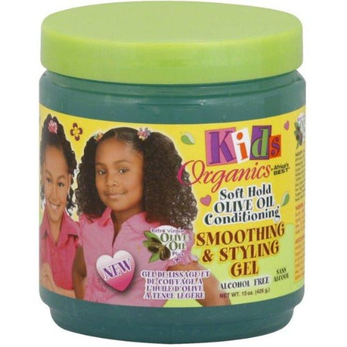 Africa's Best - Kids Organics Olive Oil Smoothing and Styling Gel 15 oz