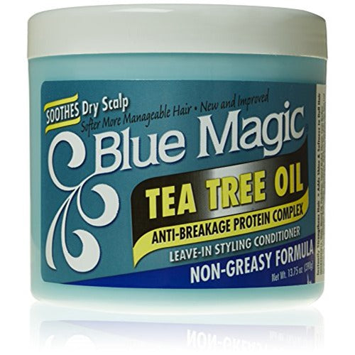 Blue Magic - Tea Tree Oil Leave-In Styling Conditioner 13.75 oz