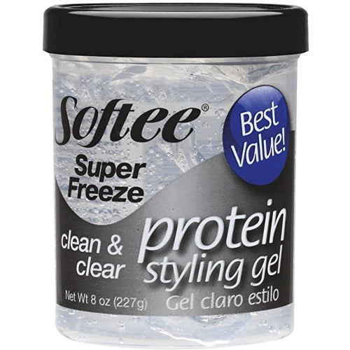 Softee - Super Freeze Protein Styling Gel Clear