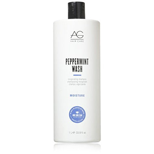 AG Hair - Moisture Peppermint Wash 33.8 fl oz