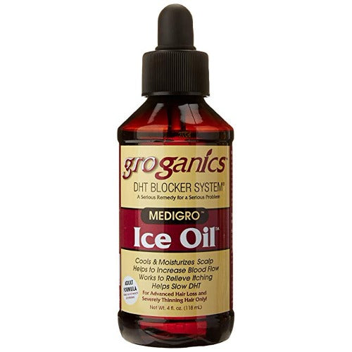 Groganics - DHT Blocker Medigro Ice Oil 4 fl oz